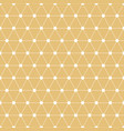 seamless geometric pattern with interweaving thin vector image vector image