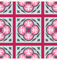 seamless pattern with oriental ornament vector image