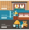 Sleep Time Banner Set vector image vector image