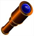 spyglass vector image vector image