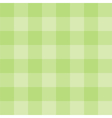 Tile green plaid background or wallpaper vector image vector image