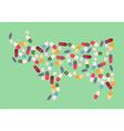 cow antibiotic resistance vector image