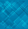 abstract blue square shape technology laser vector image