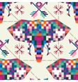 Animal head elephant triangular pixel icon vector image