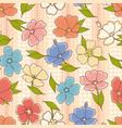 flower shop gardening logos vector image vector image
