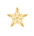 modern star background vector image vector image