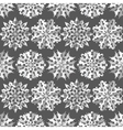 Seamless christmas pattern Origami paper cut out vector image vector image