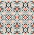 seamless pattern with oriental ornament vector image vector image