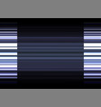 silver frequency bar overlap in dark background vector image vector image