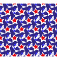 american flag seamless patterns independence vector image vector image