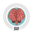brain power concept vector image