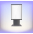 Lightbox with reflections and glare vector image