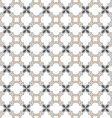 Monochrome seamless pattern islamic style vector image vector image