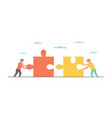 teamwork for business design vector image vector image
