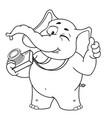 big collection cartoon photographer winks vector image