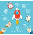 Business Startup Concept vector image