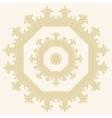 Circular ornament Mandala vector image