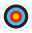 Archery Target vector image vector image