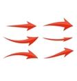 Arrow Icon Sign Set vector image vector image