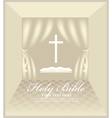 hall for Christian preaching vector image