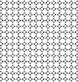 Monochrome seamless pattern oriental style vector image vector image