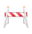 road barrier 04 vector image