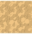 Seamless pattern with elements of brickwork vector image vector image