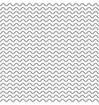 thin wavy lines seamless pattern vector image vector image