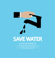 Water Conservation Conceptual vector image