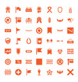 49 banner icons vector image vector image