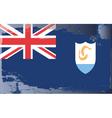 anguilla national flag vector image
