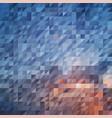 blue orange abstraction composed of blue orange vector image