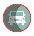 car waggon vehicle icon vector image vector image
