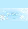 christmas and new year background with winter vector image vector image