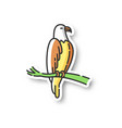 eagle patch vector image