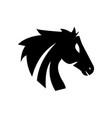 horse logo design vector image vector image