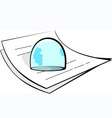 paperweight vector image vector image