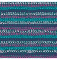 Seamless pattern with hand drawn abstract knitting
