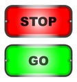 Stop and Go vector image vector image
