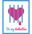stValentine icons card 10 vector image vector image