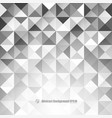 abstract gray background with triangles and lines vector image vector image