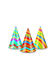 Colorful party hats for your holiday isolated on vector image vector image