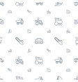 motor icons pattern seamless white background vector image vector image