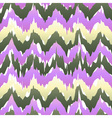 seamless patter design with chevron ikat repeating vector image