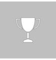 Trophy computer symbol vector image vector image