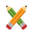 Two Pencils vector image