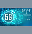 5g wi-fi standard background