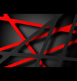 abstract red gray line shadow texture design vector image