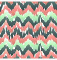 Colorful zigzag geometric seamless pattern in pink vector image vector image