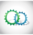 eco icons - logos vector image vector image